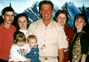 Clyde Sr. separated from his wife and children.